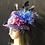 Thumbnail: Lavender vintage felt rider with netting