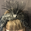 Thumbnail: Vintage feather black swan crown