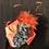 Thumbnail: Black fur felt Rider with pumpkin
