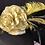 Thumbnail: Black straw Tiffany with lemon yellow