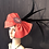 Thumbnail:  Red Leather and Hot Lips fascinator