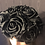 Thumbnail: Black roses pillbox