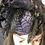 Thumbnail: Purple and black spider Fascinator
