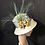 Thumbnail: Natural sisal straw Ridged Cloche
