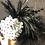 Thumbnail: Black fur felt Scottie with polkadots