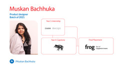 Muskan, Bachluka, Product Design, Batch of 2021