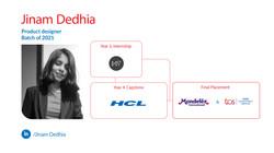 Jinam Dedhia, Product Design, Batch of 2021