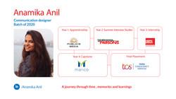 Anamika ANil, COmmunication Designer, Batch of 2020