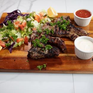 Lamb Chop Plate (4Pcs)