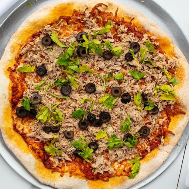 Pizza moyenne 12_ tunisienne _ Medium 12