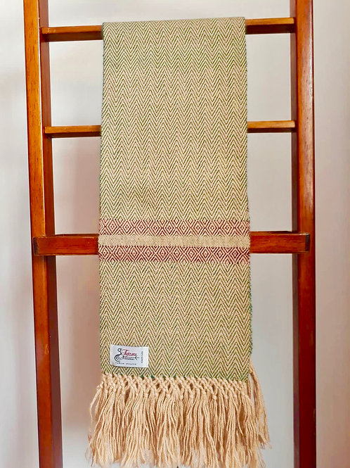 Alpaca scarf men (Tajzara)