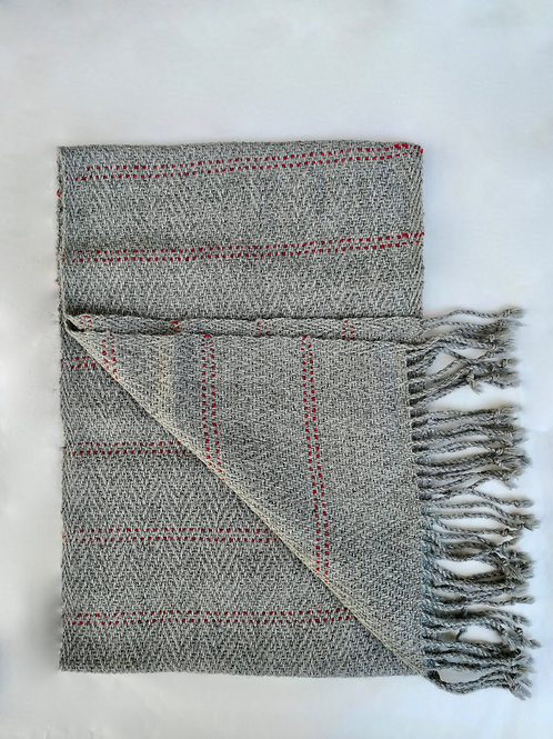 Alpaca Anna stripped scarf