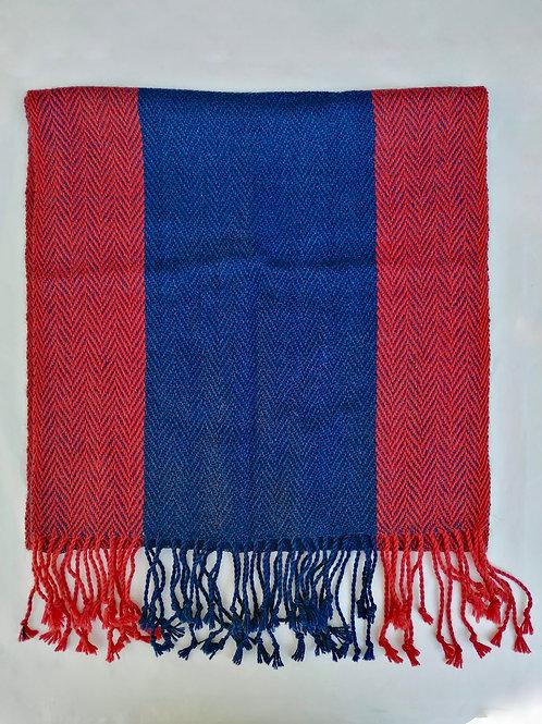Alpaca Anna wide scarf