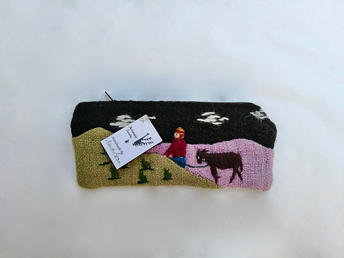 NATURAL COLORED POUCH