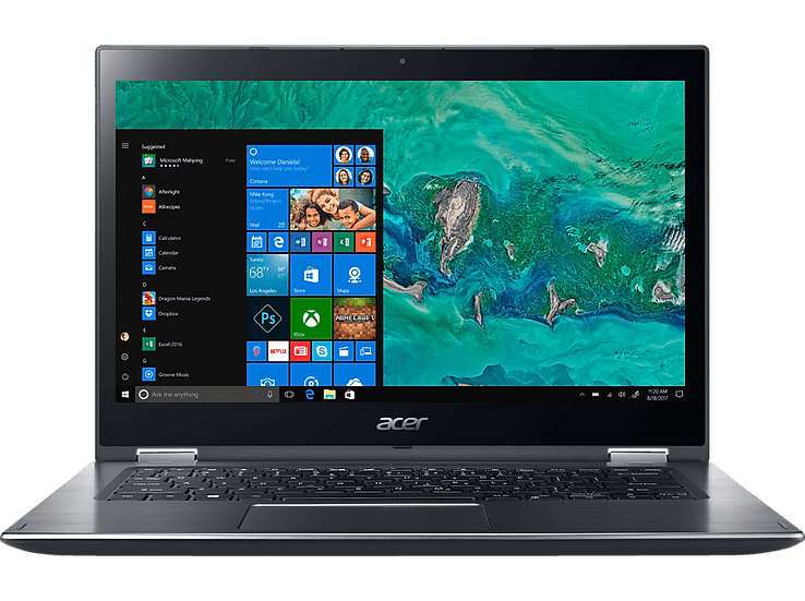 """Acer Spin 3 SP314-54 14"""" Touch i5-1035G1 8GB 256GB SSD W10Home Flip"""