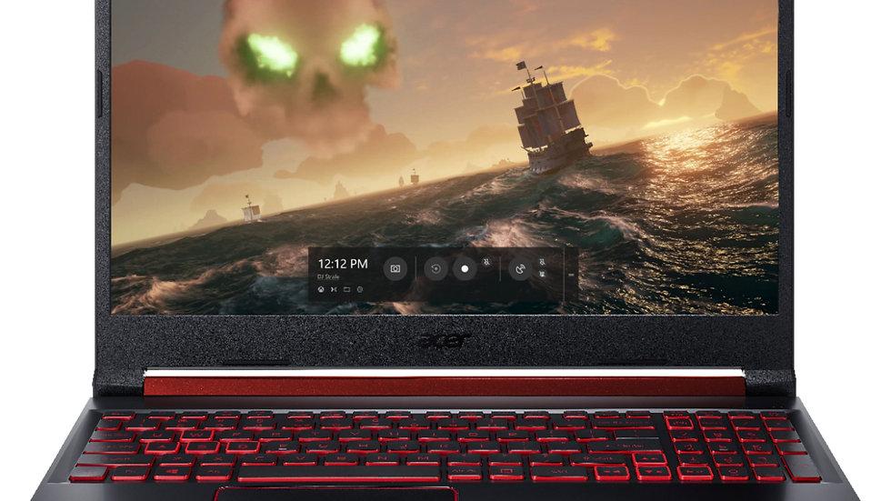 "Acer Nitro 5 15.6"" FHD R7-4800H 16GB 512GB SSD GTX1650Ti W10Home"