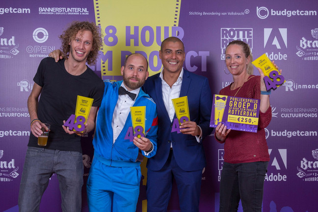 Hitchcock Hitchcock wins (a lot) @ the 48 hour film project Rotterdam 2017