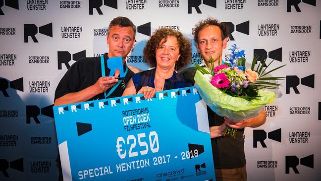 Hitchcock Hitchcock wint juryprijs Rotterdams Open Doek seizoensfinale