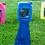 Thumbnail: CLUBLINE   10 L  Röd, Blå, Gul