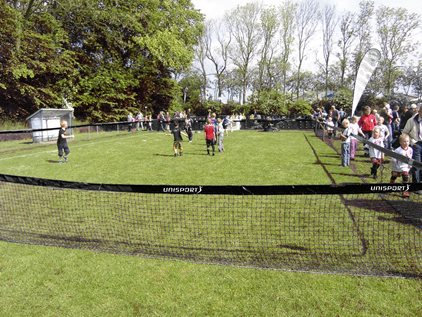 Fotbollssarg  Nät 3-manna
