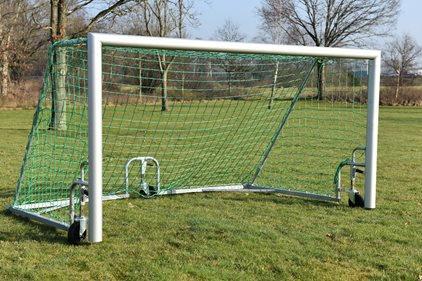 5-manna fotbollsmål 3x1,5m LÅGT.