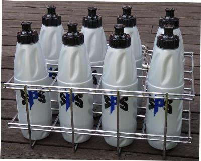 Vattenflaskställ 8 flaskor