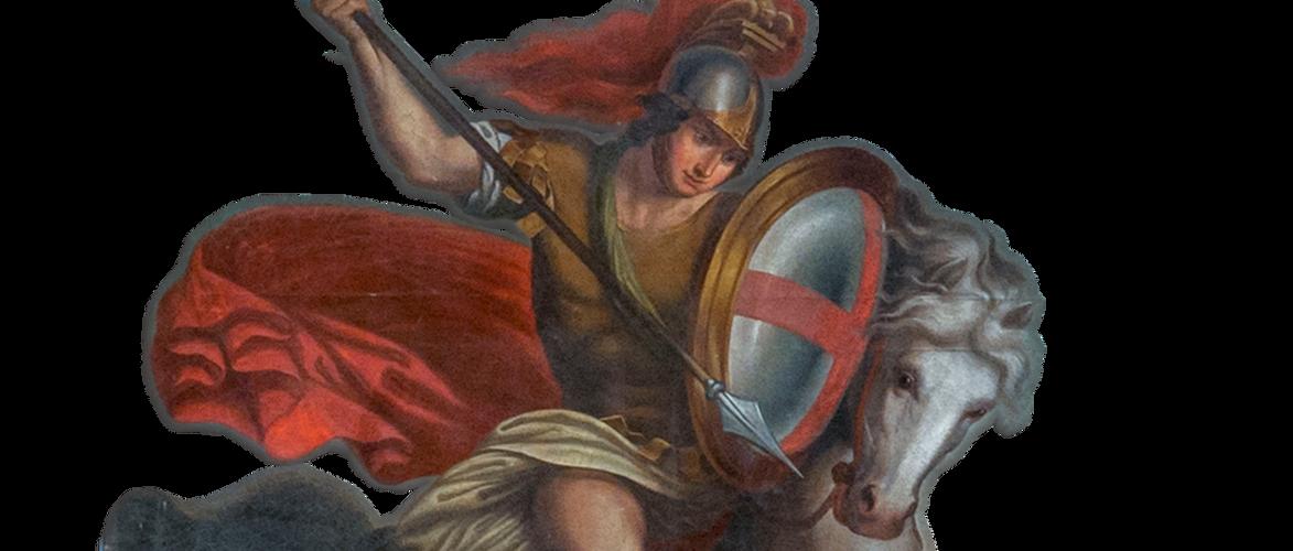 San Giorgio e il Drago, XIX sec., La Maddalena