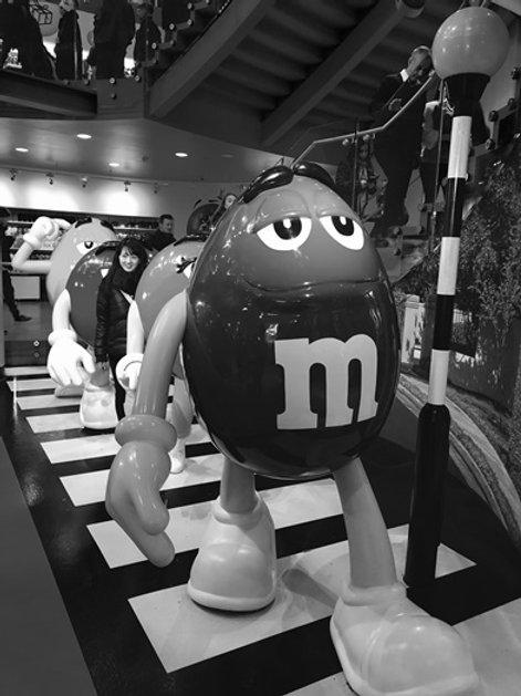 m&m walk