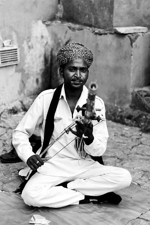 Traditional musician