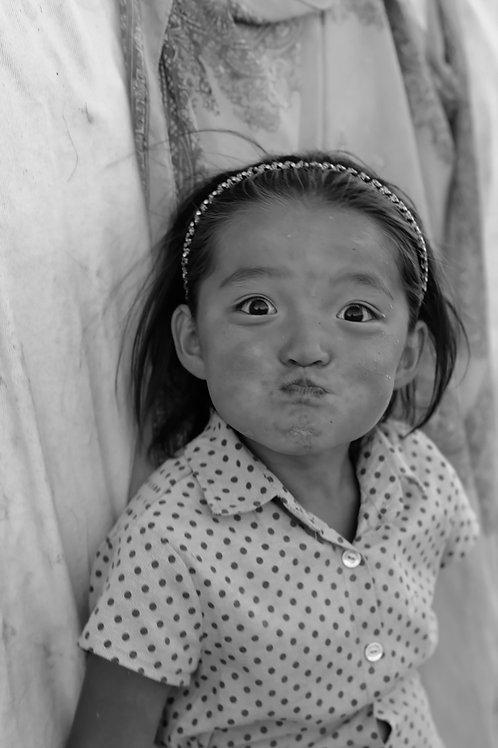 Mongolian Girl II