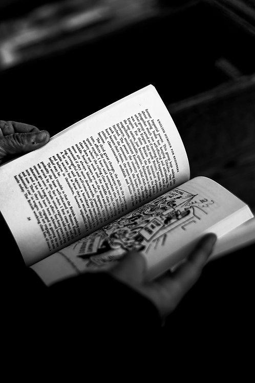 Leaf through a book
