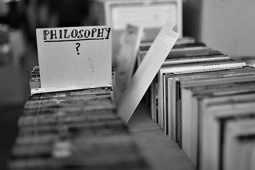 Philosophy?
