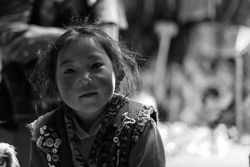 Mongolian Girl I