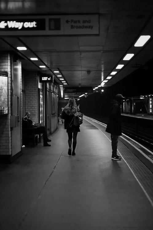London Tube - waiting