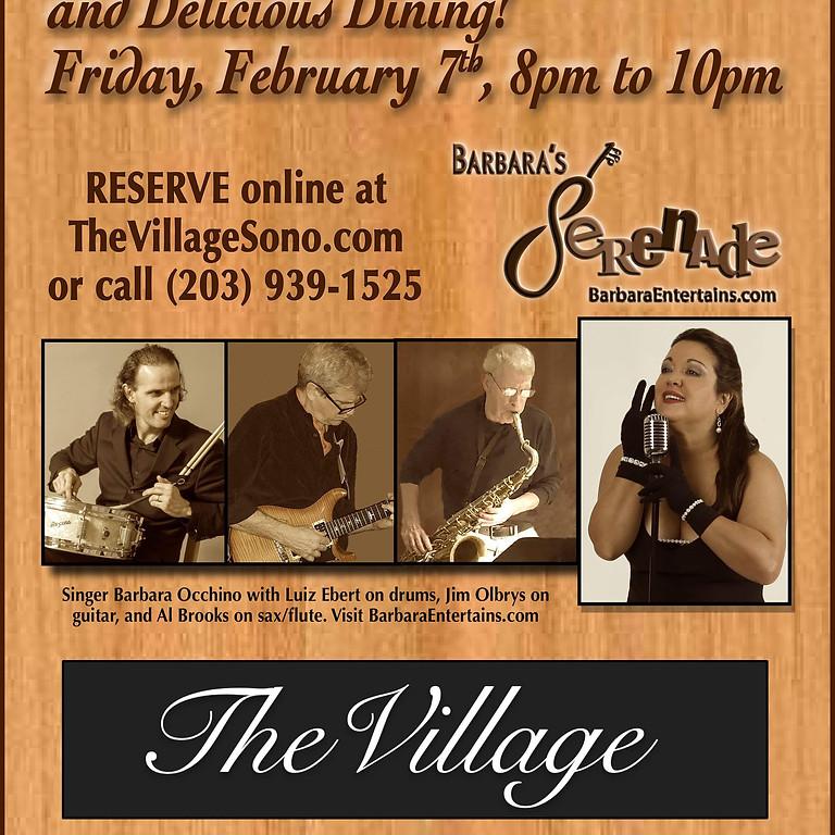 Barbara Serenades at The Village Sono