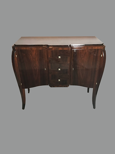 Art Deco dressoir / commode, bieden vanaf