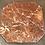 Thumbnail: Gietijzeren tafel met marmer blad (BIEDEN VANAF)