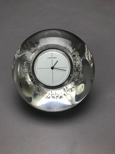 Leerdam Glazen klok