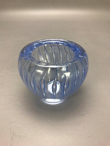 F. Meydam Donker Blauwe Serica Vaas