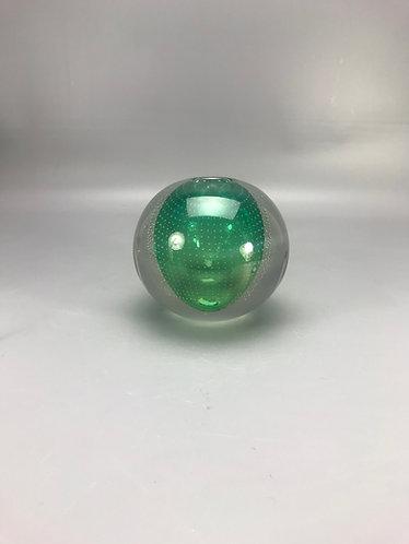 Copier serica groen spijker vaas