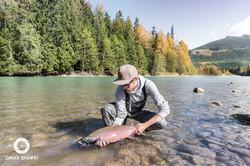 Fishing for Coho