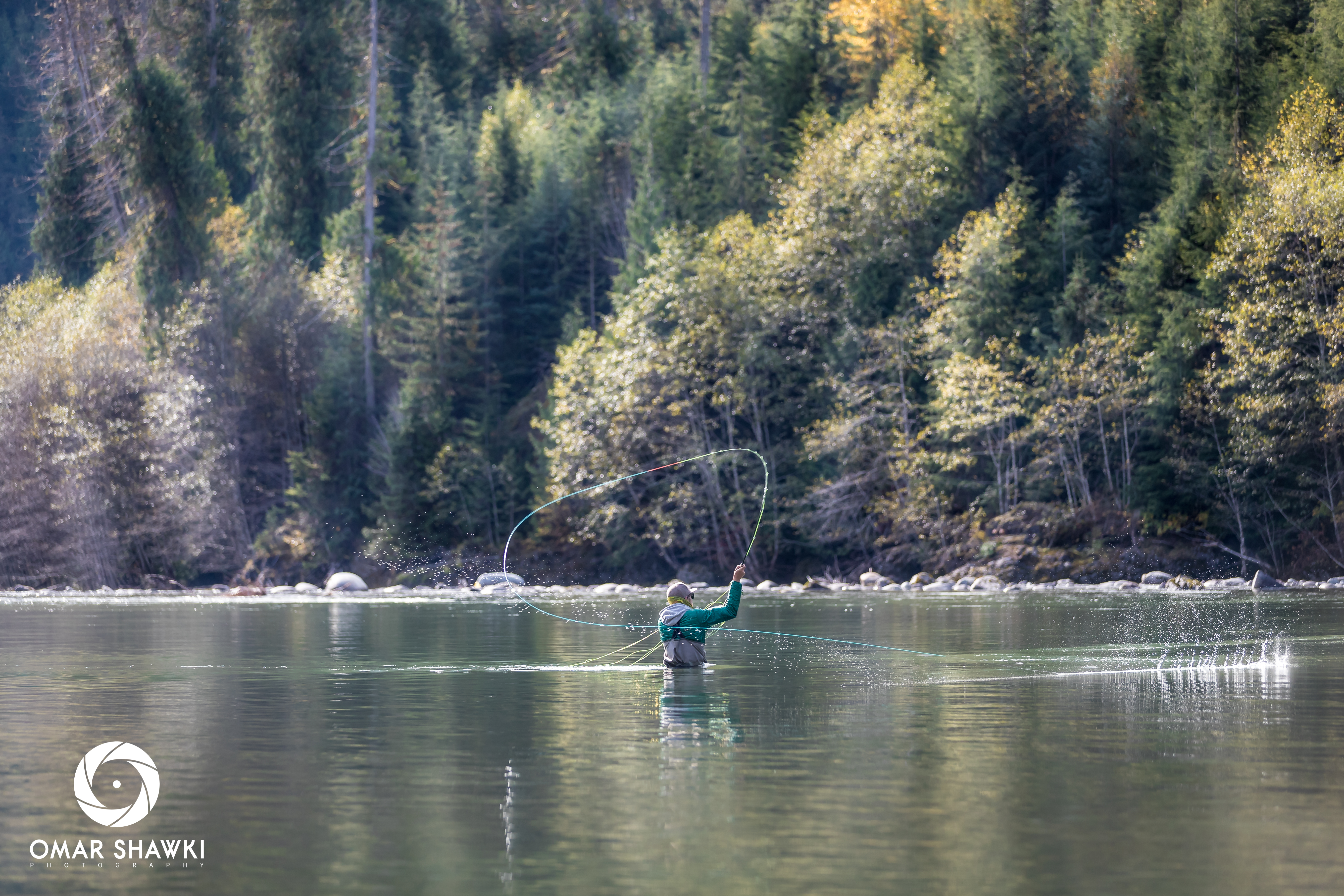 Casting on the Copper River
