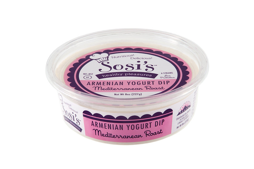 Mediterranean Roast Armenian Yogurt Dip - Pack of 8