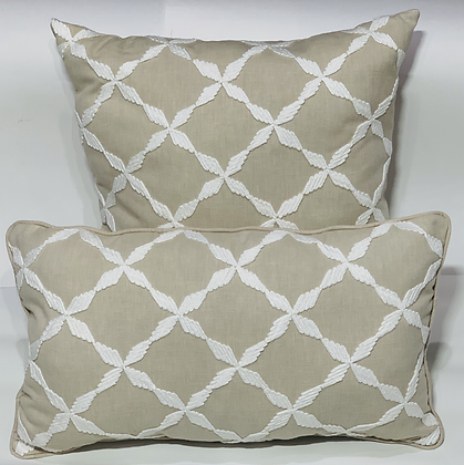 Andalus Embroidery Aegean Pillow Set