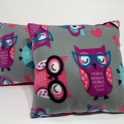 Smart Owl Kid's Pillow Set