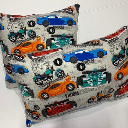 Fast Cars Kid's Pillow Set
