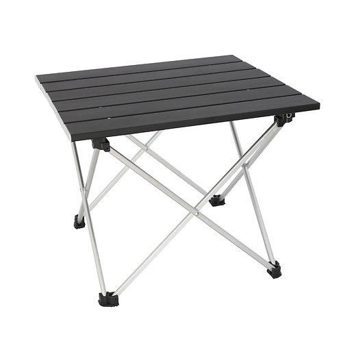 Sutekus ロールテーブル アルミ製 アウトドアテーブル 専用収納袋付き (折畳テーブル) キャンプ用品