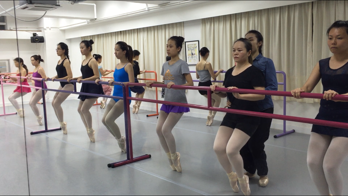 Pointe Class for Beginners