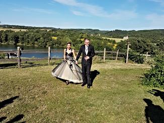 Mariage à l'Auberge du Balestié