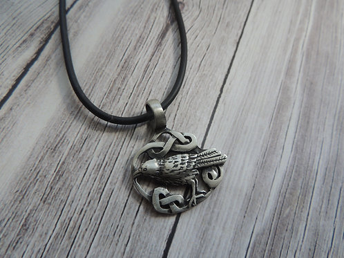 Silver plated Bird Pendant Necklace